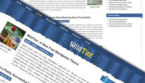 Free Workdpress theme Wild Tint